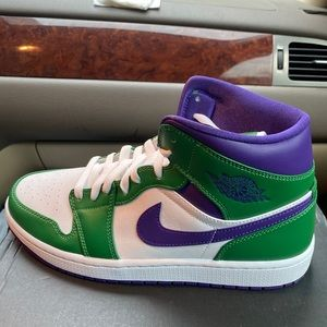 Jordan 1 Incredible Hulk